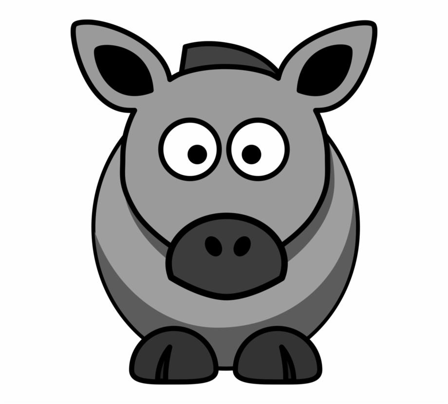 920x830 Donkey Horse Cartoon Drawing Download