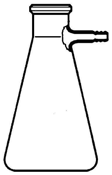 384x600 Erlenmeyer Flask Drawing