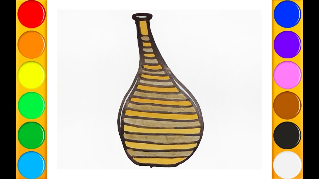 1280x720 How To Draw An Erlenmeyer Flask Beautiful And Easy Drawing