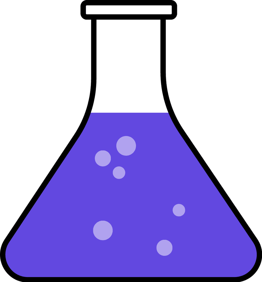 900x968 Clipart Of Flasks