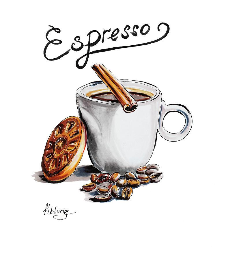 783x900 Coffee Drawing