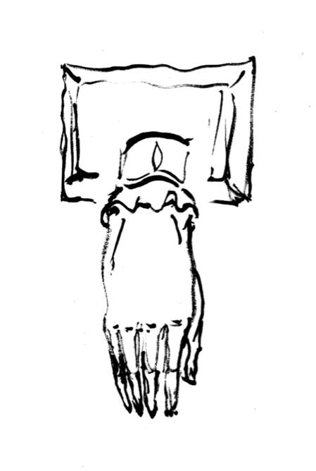 449x668 drawing in the dissecting room m o d i s et a m m i n i c u l u m