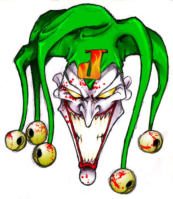 566x653 The Joker Pencil Airbrush Drawing X Inch Artwork Etsy Joker