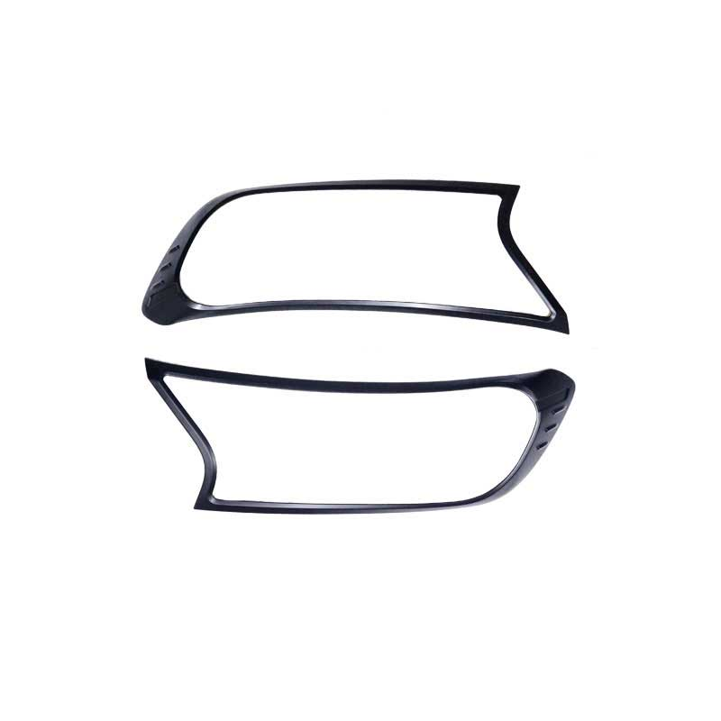 800x800 Black Headlight Trims To Suit Ford Ranger Px Everest East