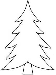 216x288 Evergreen Tree Outline