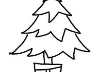 200x150 Christmas Tree Drawing Game Awesome Free Evergreen Tree Outline