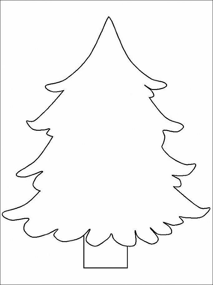 682x909 Evergreen Trees Coloring Sheets Lovely O Christmas Tree Coloring