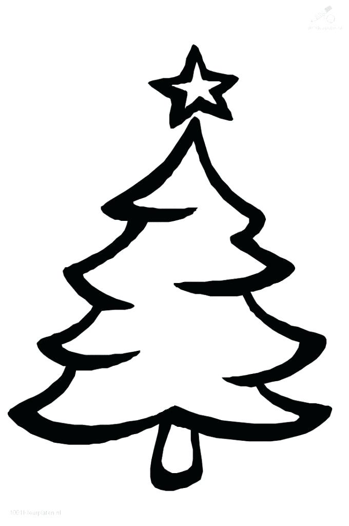 680x1024 How To Make A Christmas Tree Drawing Tree Drawing Tree Line