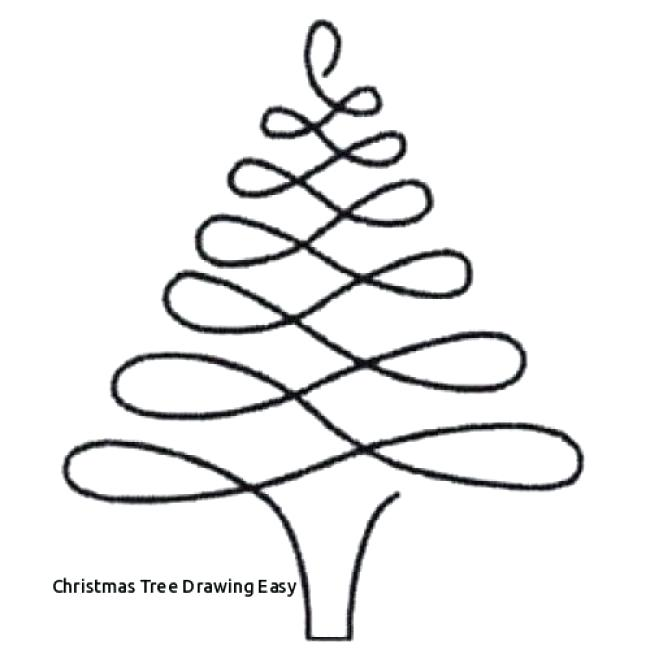 650x650 Easy Christmas Tree Drawing