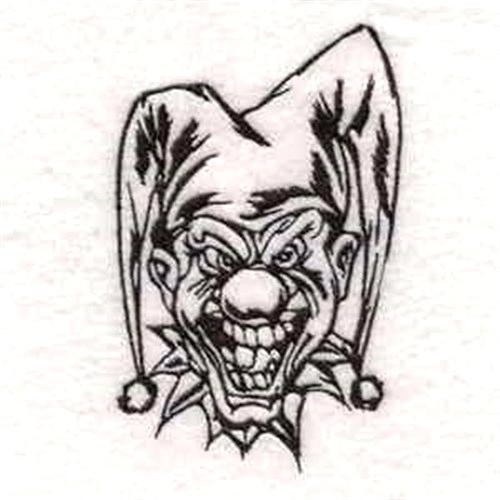 500x500 scary clown sketches evil clowns pencil drawings evil clown