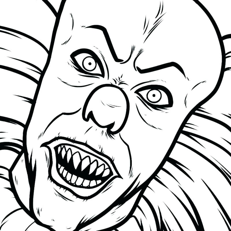 800x800 simple clown drawing easy creepy drawings ideas about creepy