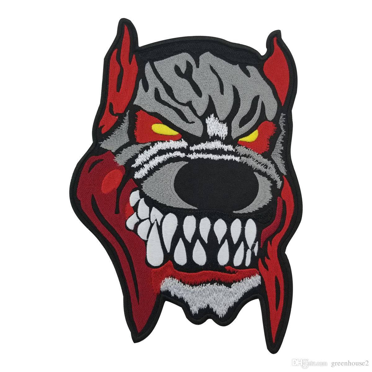 1200x1200 evil dog patch motorcycle club mc tradition biker vest patch
