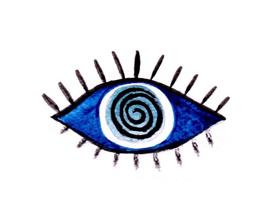 900x720 Evil Eye Painting