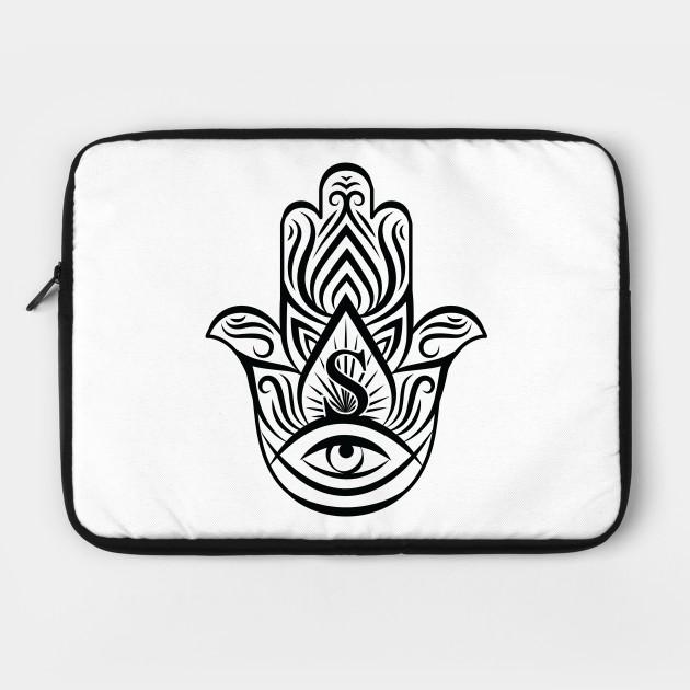 630x630 Hamsa, Design With Evil Eye For Good Luck