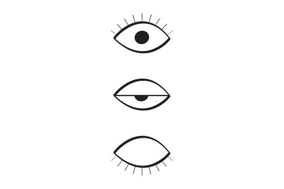 570x380 Sleeping Eye, Sleep, Closed, Good Night, Evil Eye, Protection