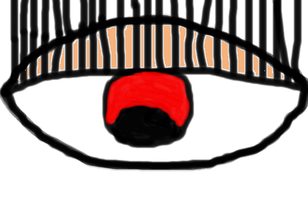 600x400 The Evil Eye An Abstract Speedpaint Drawing