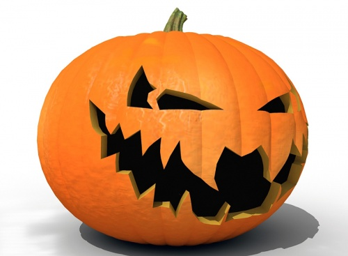 500x367 Scary Pumpkin Faces Clipart Collection