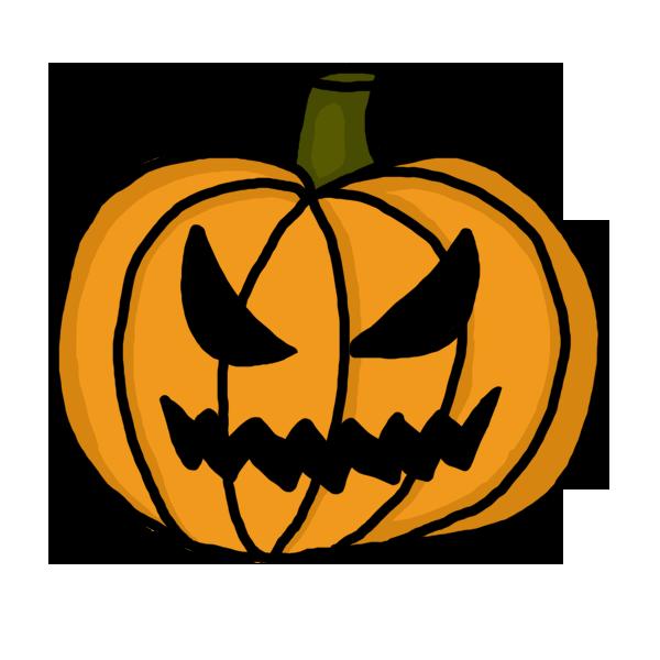 600x600 Collection Of Free Transparent Halloween Evil Pumpkin Download