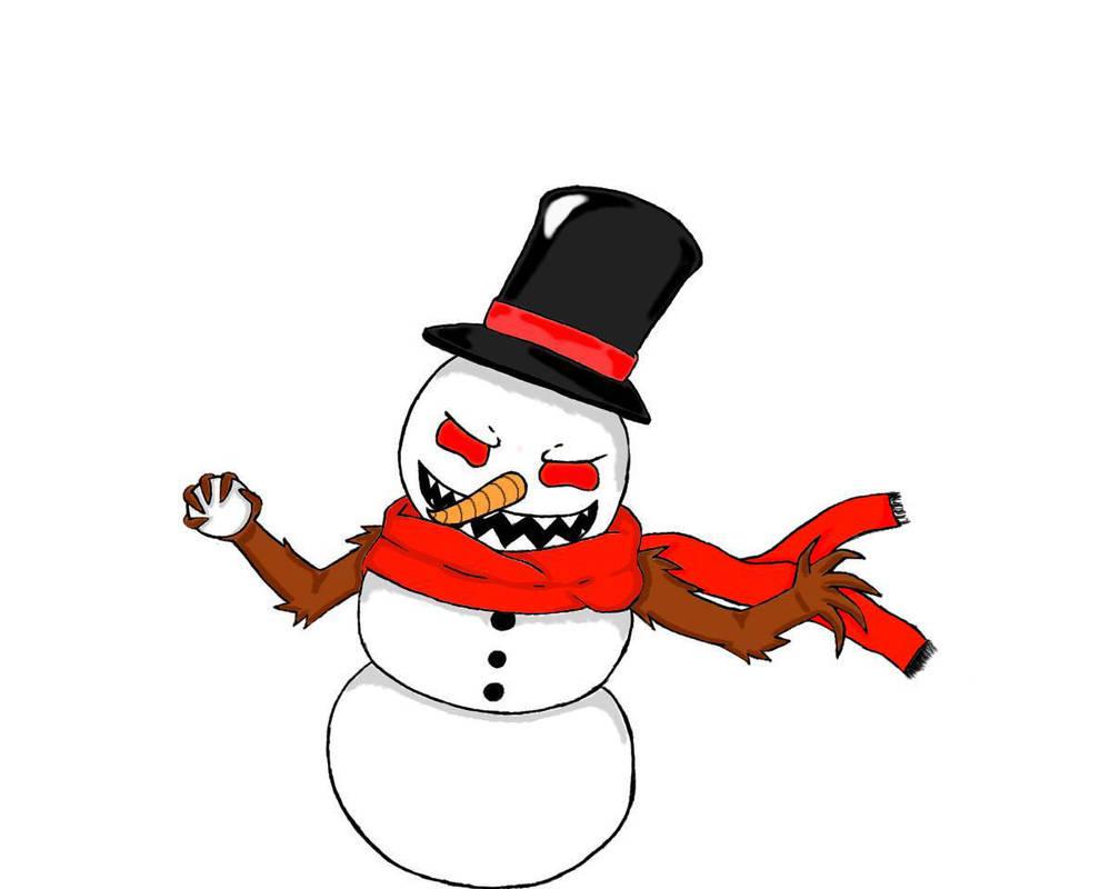 999x800 Evil Snowman