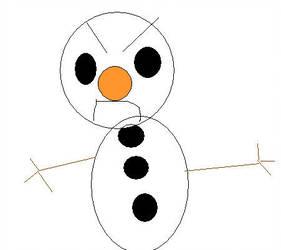 281x250 Evil Snowman