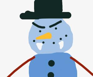 300x250 Snowman Vampire