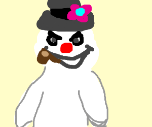 300x250 Evil Frosty
