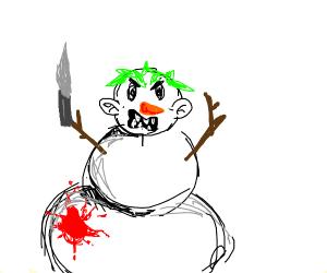300x250 A Demonic Snowman