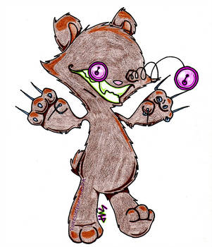 301x350 Old Evil Teddy