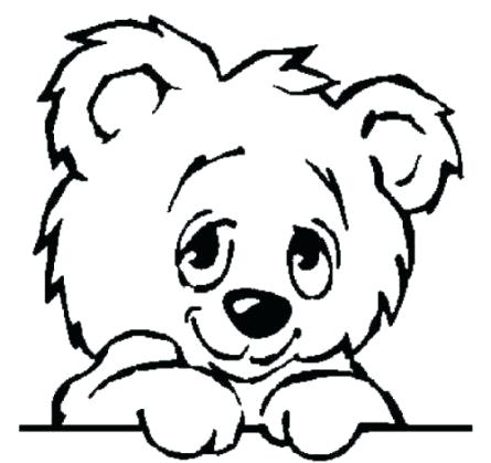 445x419 Simple Drawing Of A Bear Image Titled Draw A Teddy Bear Step
