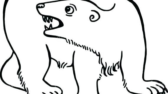 570x320 Simple Teddy Bear Drawing