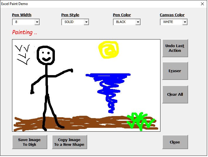 Excel Drawing | Free download best Excel Drawing on