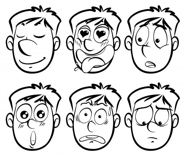 626x526 Facial Expression Vectors, Photos And Free Download