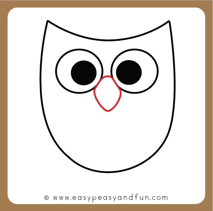 705x699 How To Draw An Owl