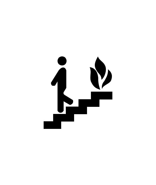 640x755 emergency plan fire evacuation plan template fire exit plan