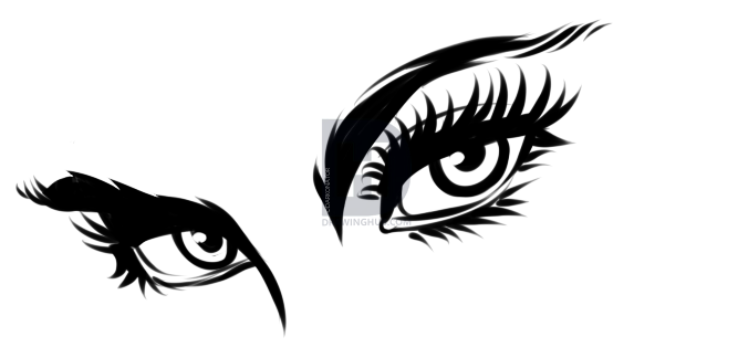 667x324 How To Draw Comic Book Eyes, Step