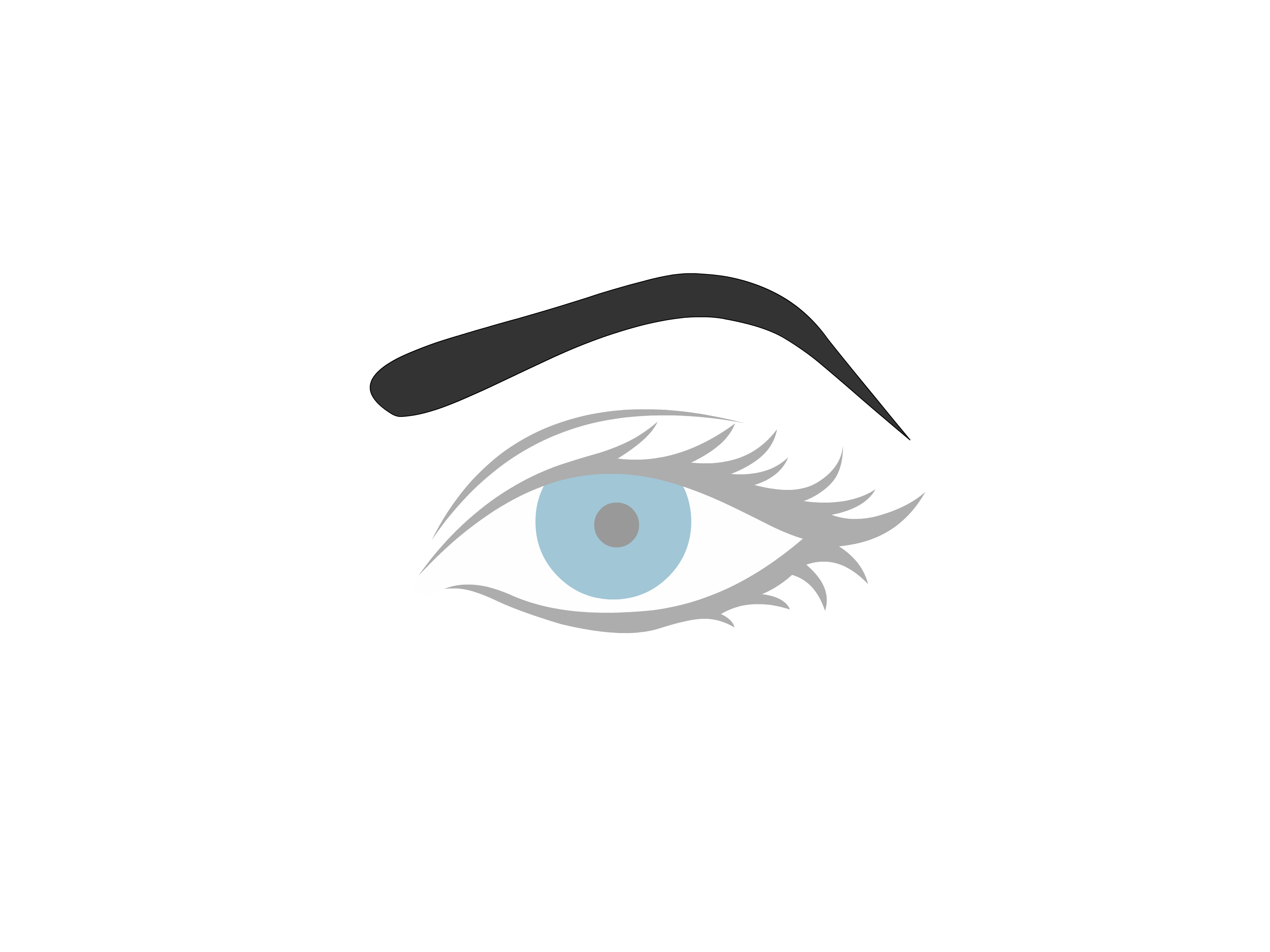 3200x2400 How To Draw An Eyebrow Steps
