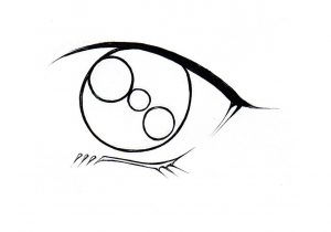 300x210 How To Sketch Anime Eyes How To Draw An Anime Eye