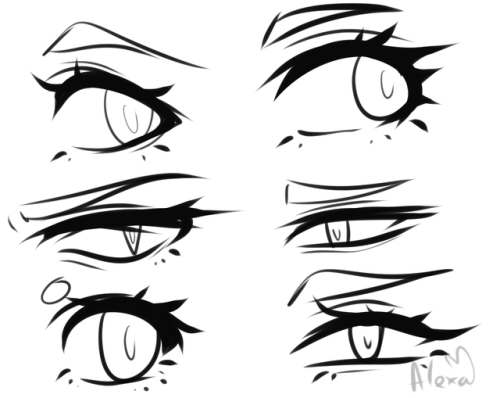 500x398 Anime Eye Tutorial Tumblr