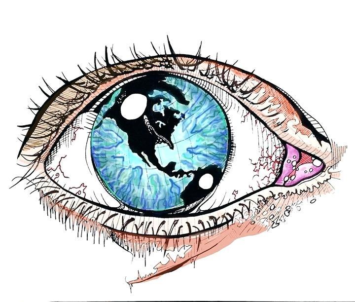 720x612 Drawings Of Eye