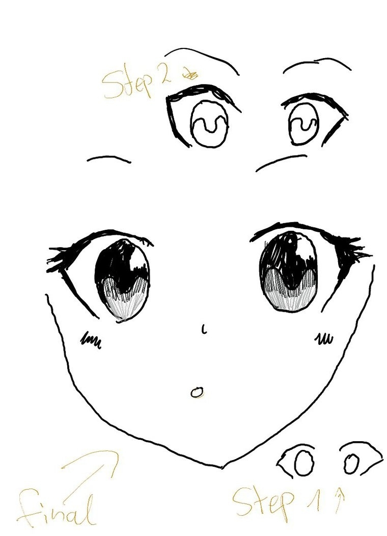 760x1052 Anime Eye Drawing At Getdrawings Free For Personal Use Anime
