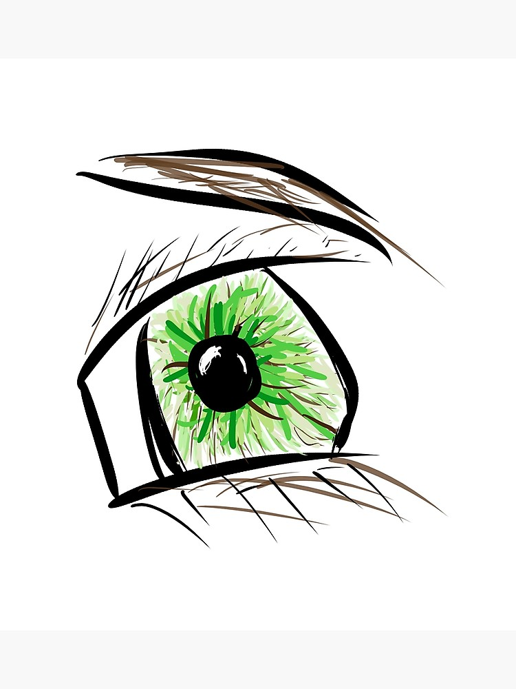 750x1000 Eye Drawing Design Photographic Print
