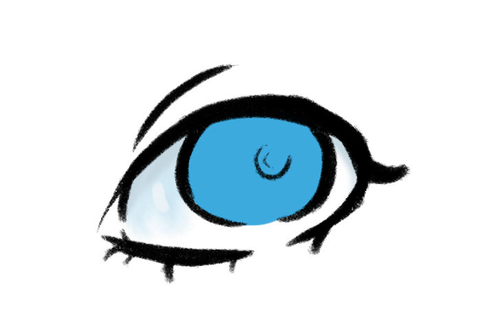 727x486 How To Draw An Eye In Photoshop Izs