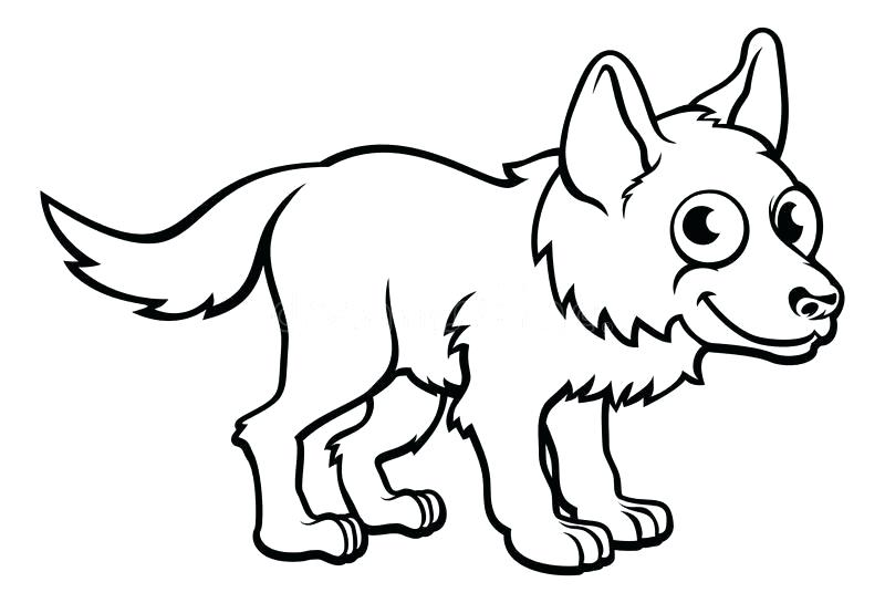 800x545 wolf outline drawing grey wolf drawing howling wolf outline