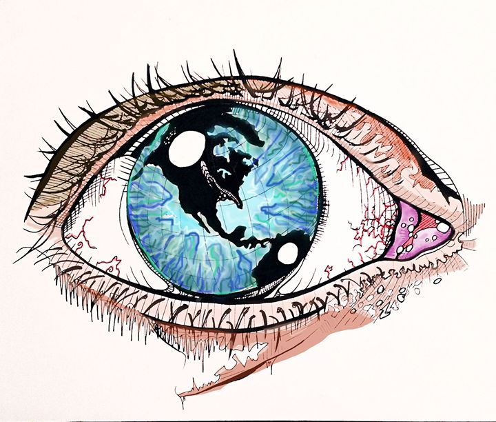 720x612 One Day The World Was In Her Eye