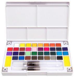 284x300 Transparent Solid Watercolor Paint Suit Colors Watercolor
