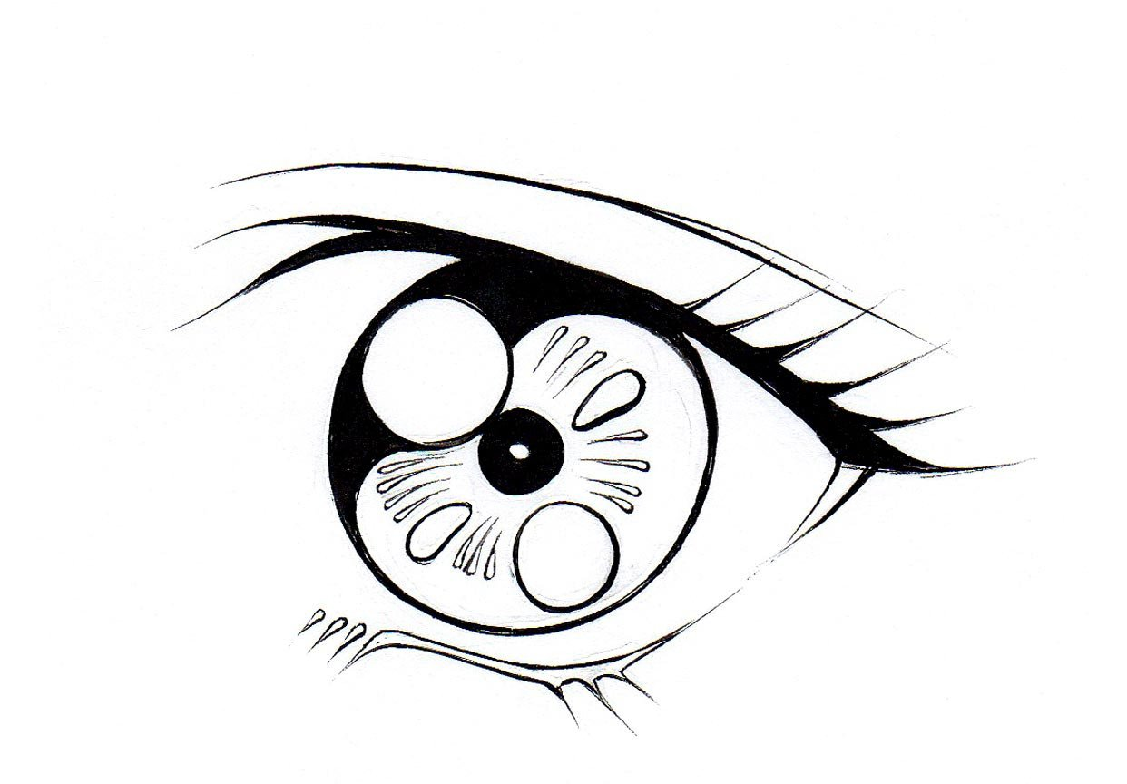 Eye Picture Drawing