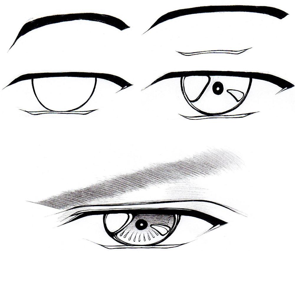 Eye Pupil Drawing