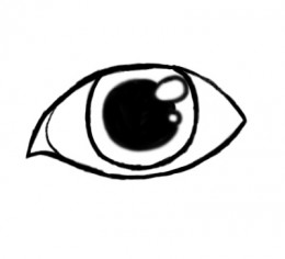 260x236 how to draw the pupil of an eye