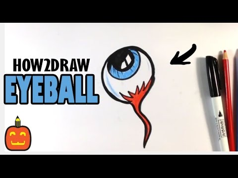 480x360 How To Draw A Spooky Eyeball