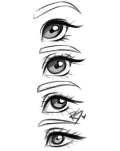 235x294 Most Inspiring Drawings Of Eyes Images In Cool Drawings